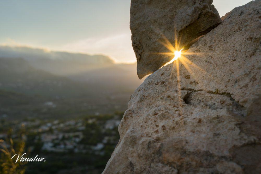 evening light as a star